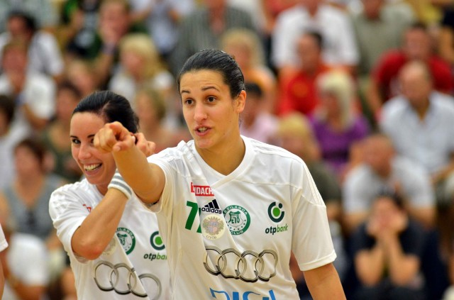 Andrea Lekic aim for Champions League trophy | Photographer: Zsolt Csikfalvi