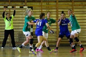 Playing against her earlier team, Podravka photo: győri audi eto kc