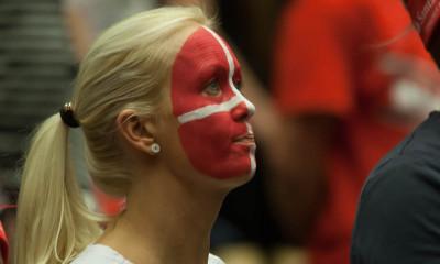 Danish supporter