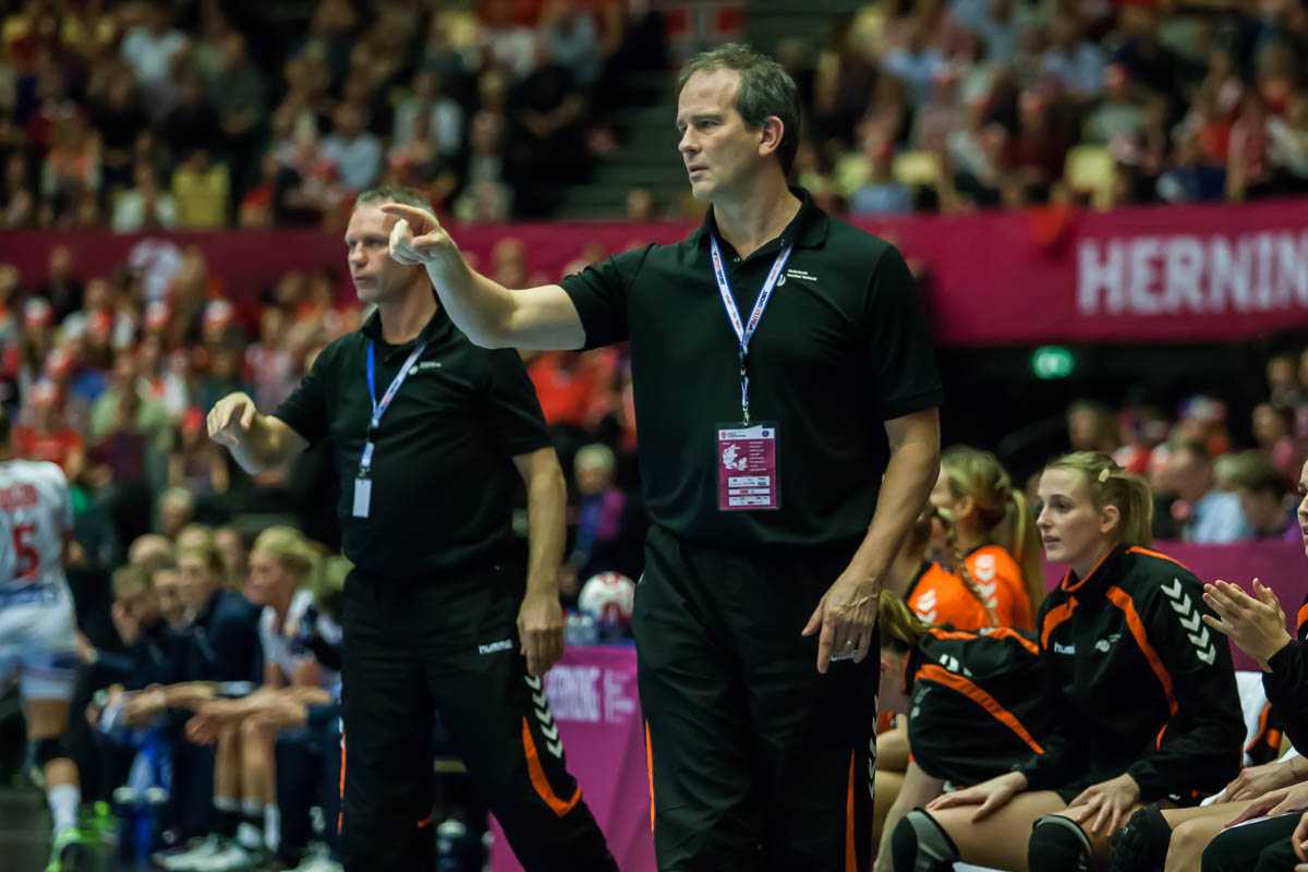 Henk Groener, head coach Netherlands | Photo: Bjørn Kenneth Muggerud