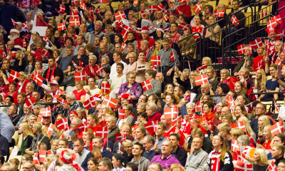 danish fans, supporters