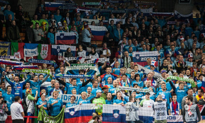 Slovenian supporters | Photo: Bjørn Kenneth Muggerud