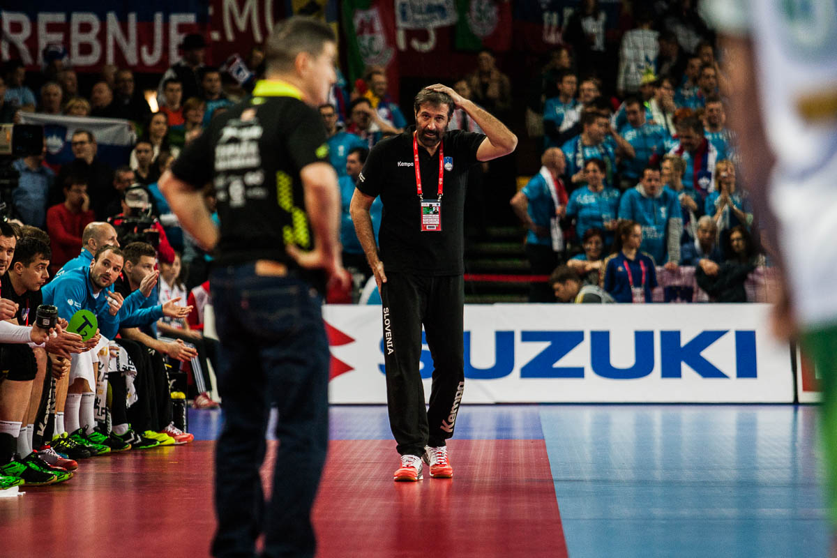 Veselin Vujovic, headcoach Slovenia