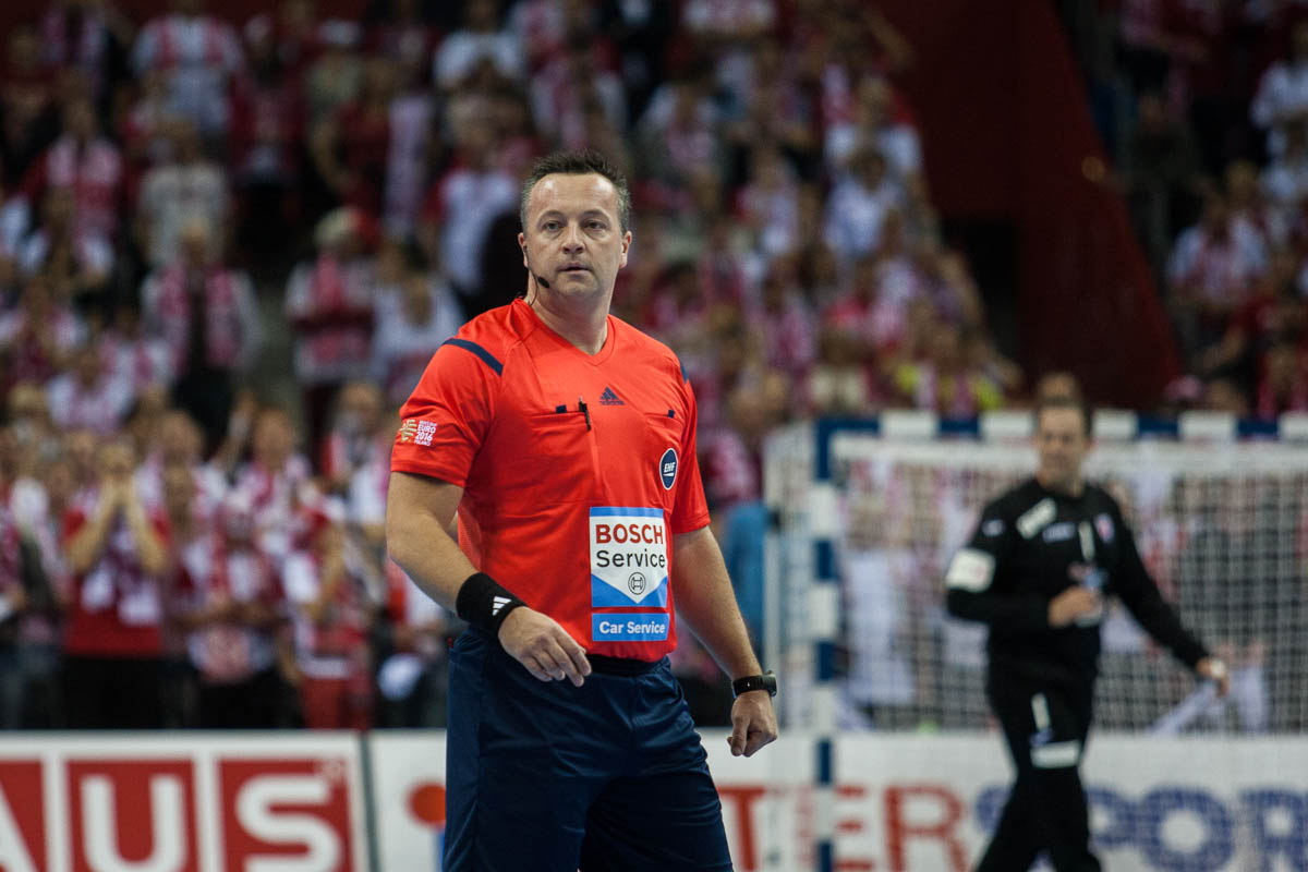 Martin Gjeding, referee, Denmark   Photo: Bjørn Kenneth Muggerud