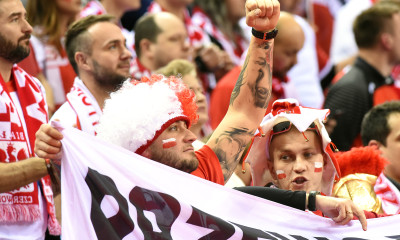 Polish supporters | Photo:Grzegorz Trzpil