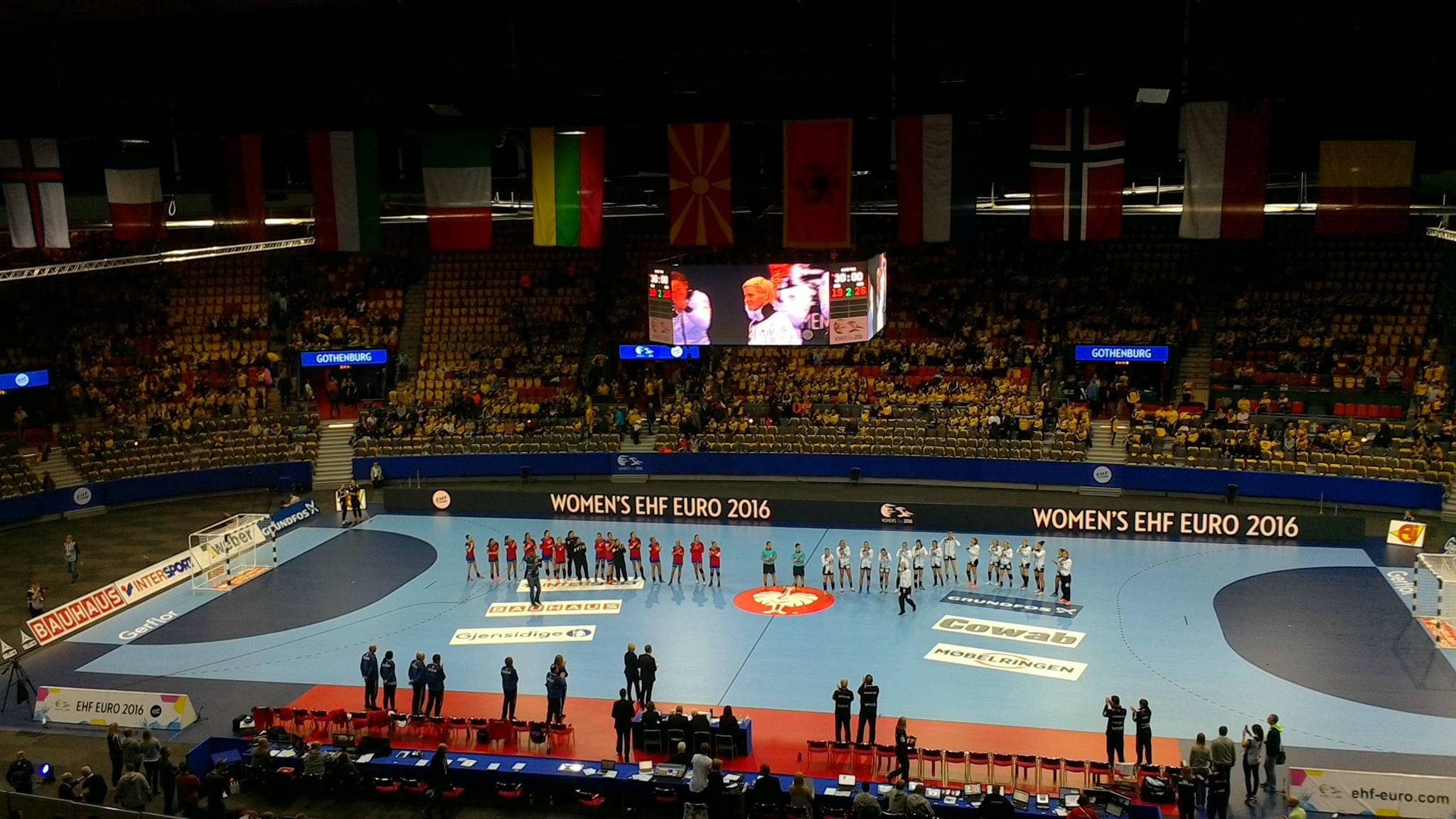 Serbia - Germany in Göteborg | Photo: Ibolya Szekeres