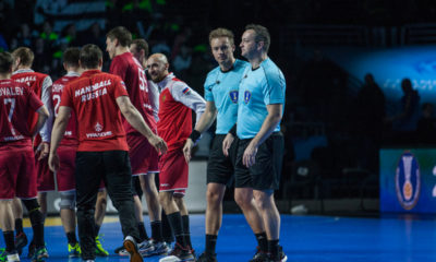 Mads Hansen and Martin Gjeding are one of the referee pairs that still are remaining for the four last matches. | Photo: Bjørn Kenneth Muggerud