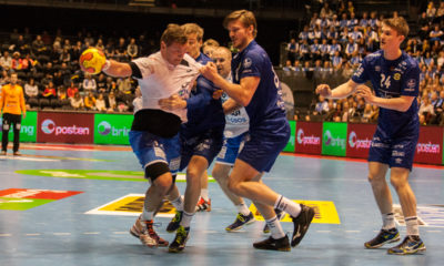 Joakim Hykkerud and Drammen HK are Norwegian Champions after a 28-23 victory against Bodø HK | Photo: Bjørn Kenneth Muggerud
