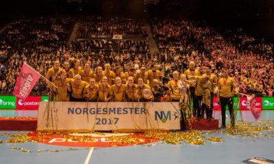 Vipers Kristiandsand Norwegian Champions 2017