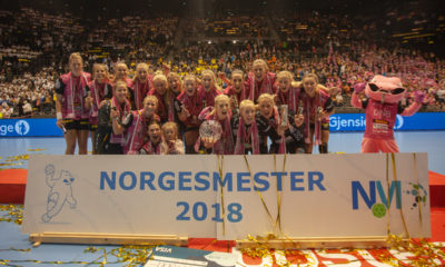 Vipers Kristiansand Norwegian Champions 2018 | Photo: Bjørn Kenneth Muggerud