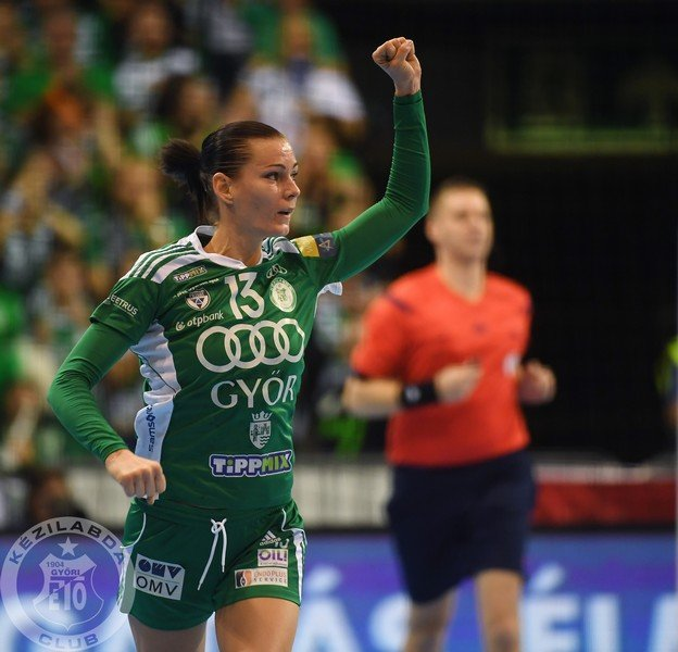 Team captain, Anita Görbicz scored 9 goals and led her team to the victory