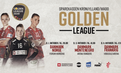 Golden League 2020 Deanmark